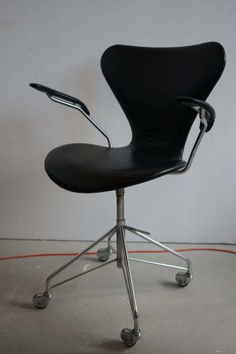 danish 3217 office chair by arne jacobsen for fritz hansen 1963 for sale at pamono arne jacobsen office chair