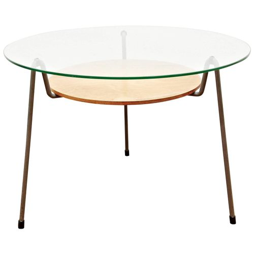 No 535 Coffee Table By Wim Rietveld For Gispen 1950s