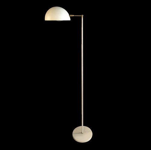 Vintage white floor lamp for sale at pamono for Tecton floor lamp white