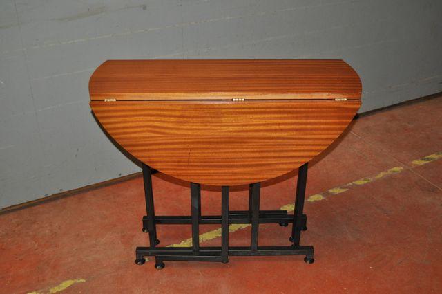 Vintage french folding dining table from torrens et fils for Table franco et fils