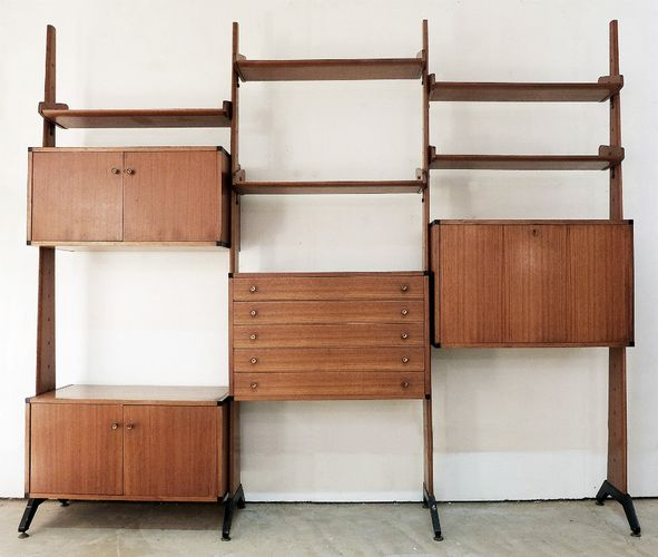 Italian Wall Unit For Sale At Pamono