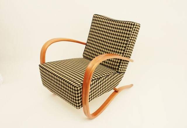 Czech H269 Lounge Chair By Jindrich Halabala For Up Zavody