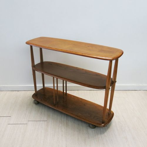 Mid Century British Elm Trolley By Lucian Ercolani For Ercol 1950s Sale At Pamono