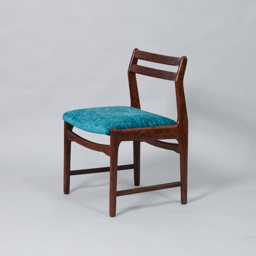 Vintage Rosewood amp Blue Fabric Dining Chair for sale at Pamono : vintage rosewood blue fabric dining chair from www.pamono.co.uk size 500 x 500 png 283kB