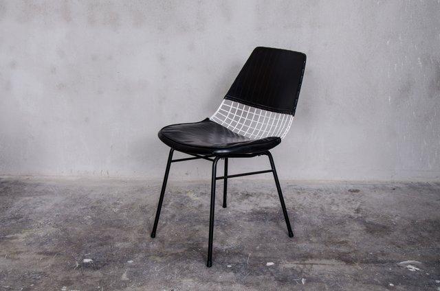 chaise d 39 appoint par cees braakman pour ums pastoe 1950s en vente sur pamono. Black Bedroom Furniture Sets. Home Design Ideas