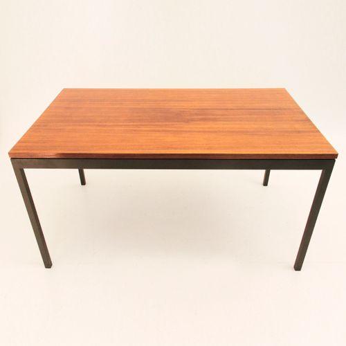 deutscher ausziehbarer esstisch von wilhelm renz f r walter wirtz 1960er bei pamono kaufen. Black Bedroom Furniture Sets. Home Design Ideas