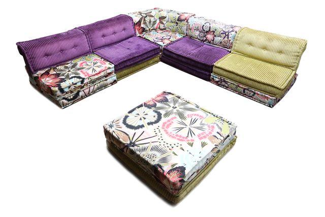 mah jong modular sofa and ottoman for sale at pamono. Black Bedroom Furniture Sets. Home Design Ideas