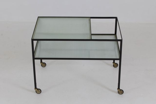 Trolley cart by herbert hirche for christian holz pfel 1956 for sale at pamono - Sofa herbergt s werelds ...