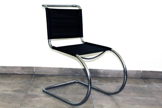 Tubular Steel Chair By Ludwig Mies Van Der Rohe, 1930S For Sale At