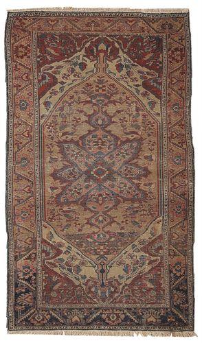 Antiker Persischer Handgemachter Sarouk Farahan Teppich