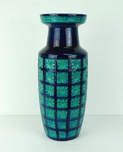 deutsche vase in t rkis blau von scheurich 1960er bei. Black Bedroom Furniture Sets. Home Design Ideas