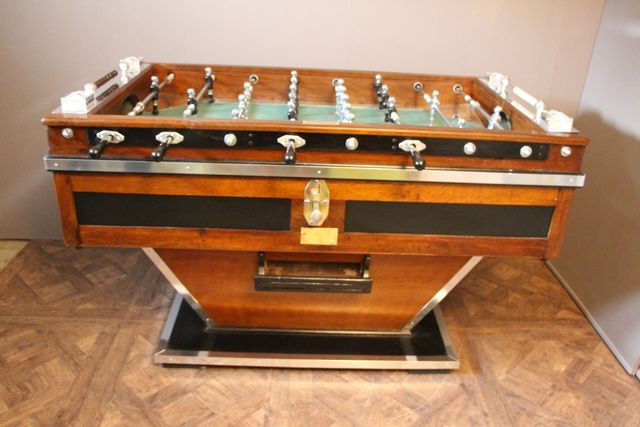 Vintage French Foosball Table For Sale At Pamono