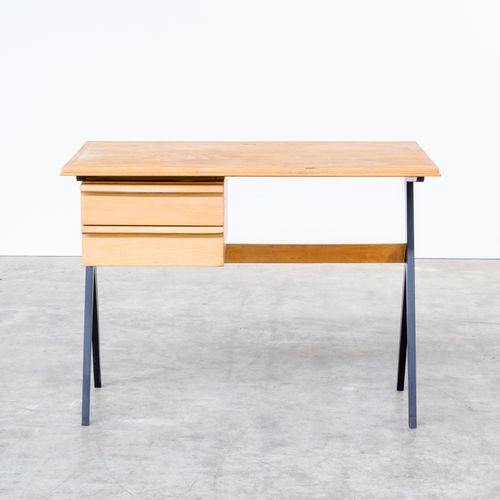 schreibtisch aus birkenholz 1960er bei pamono kaufen. Black Bedroom Furniture Sets. Home Design Ideas