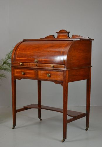 antique writing desk for sale melbourne vintage ebay 1800s ladies cylinder