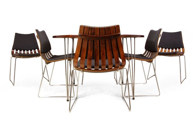Rosewood Dining Table and 6 Scandia Chairs by Hans Bratrud  : rosewood dining table and 6 scandia chairs by hans bratrud for hove mobler 1960s from www.pamono.com.au size 640 x 435 jpeg 23kB