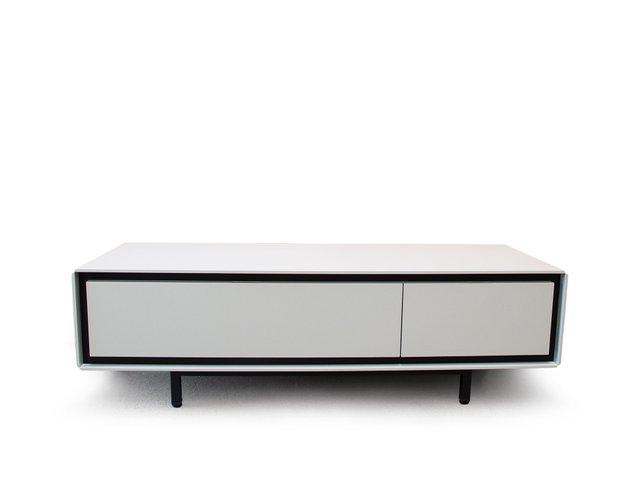 aro sideboard wei lackiert von piurra bei pamono. Black Bedroom Furniture Sets. Home Design Ideas