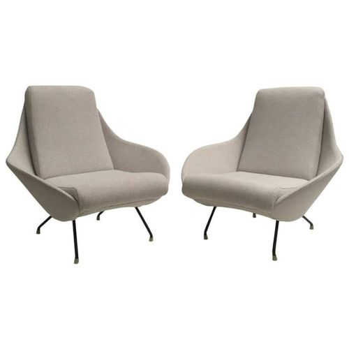 Italian sculptural mantis form lounge chairs 1950s set for 1950 chaise lounge