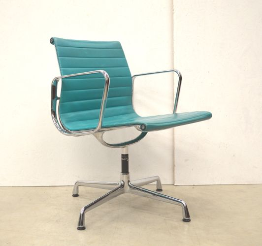 eames style 2 cushion office chair white turquoise aluminum chairs ray set replica executive metro