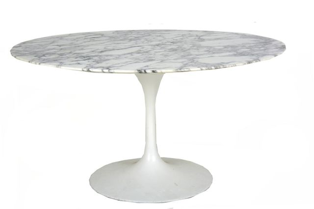 Vintage Dining Table By Eero Saarinen For Knoll International For Sale At  Pamono