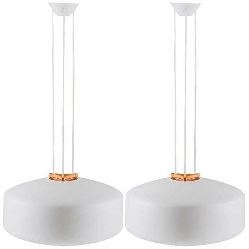 Gro e schwedische h ngelampen aus eichenholz opalglas for Schlafsofa uno