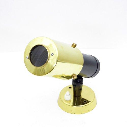 schwarz goldene zodiaque wandlampe von jacques biny f r lita 1960er bei pamono kaufen. Black Bedroom Furniture Sets. Home Design Ideas