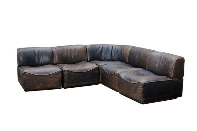 modulares ds15 sofa f r de sede 1970er bei pamono kaufen. Black Bedroom Furniture Sets. Home Design Ideas