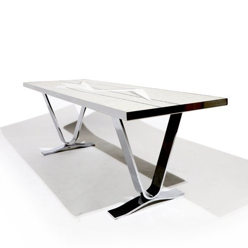 Unusual Coffee Table Design Ensures A Clear Focal Point Fresh. Futuristic  ...