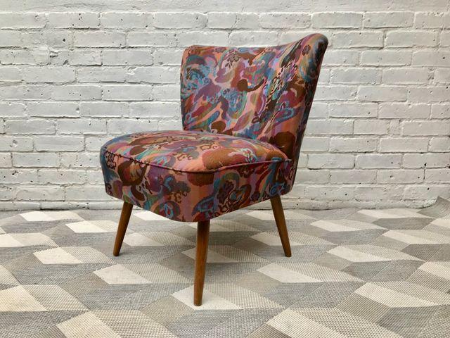 chaise d appoint cocktail vintage en vente sur pamono. Black Bedroom Furniture Sets. Home Design Ideas