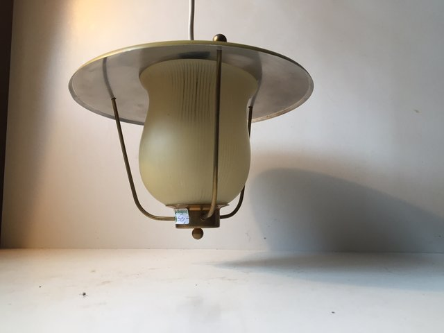 Danish Funkis Pendant Lamp From Lyfa 1940s For Sale At Pamono