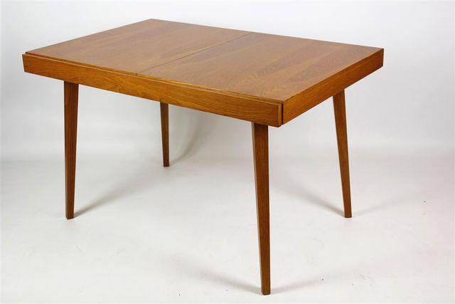 Folding Ash Veneer Dining Table From Jitona 1960s En