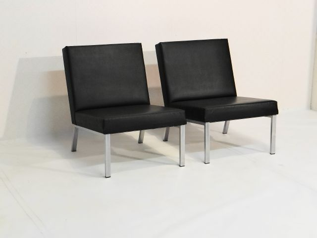 belgische vintage lounge st hle 2er set bei pamono kaufen. Black Bedroom Furniture Sets. Home Design Ideas