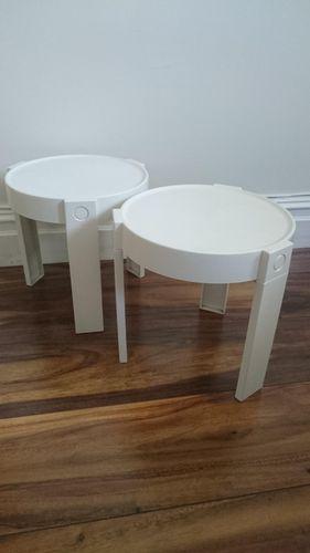 wei e beistelltische von habitat niederlande 2er set bei pamono kaufen. Black Bedroom Furniture Sets. Home Design Ideas