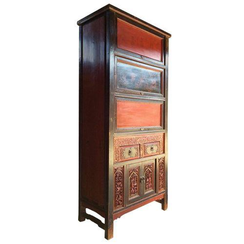 Antiker Chinesischer Schrank bei Pamono kaufen
