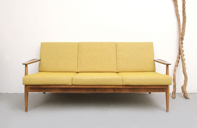 Yellow Sofa 1960s For Sale At Pamono