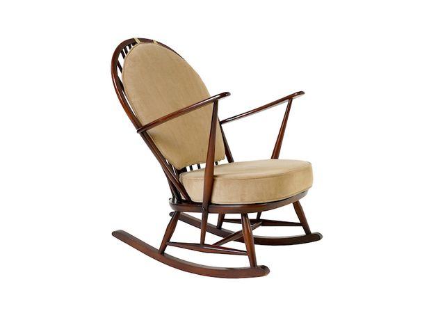 Fleur De Lys Rocking Chair By Ercol For Sale At Pamono