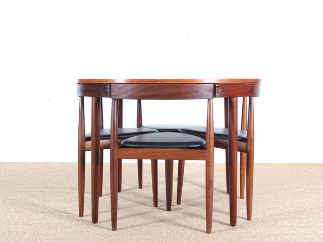 Teak Dining Table And Chairs By Hans Olsen For Frem Rojle