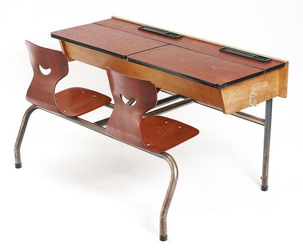 vintage school desk 1960s for sale at pamono. Black Bedroom Furniture Sets. Home Design Ideas