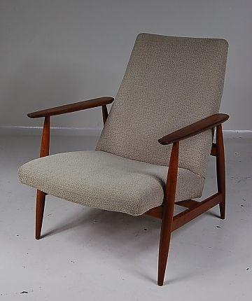 skandinavischer sessel 1950er bei pamono kaufen. Black Bedroom Furniture Sets. Home Design Ideas
