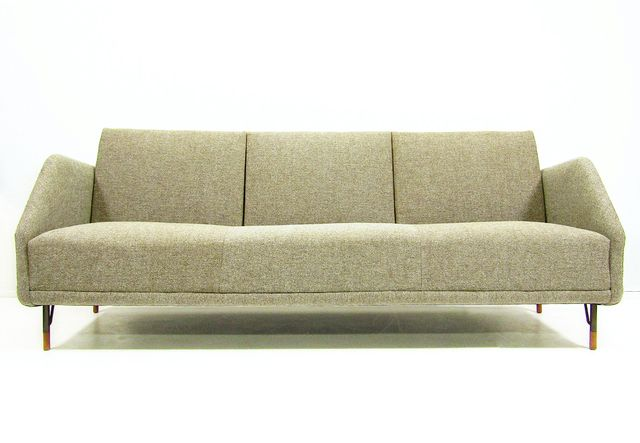 bo 77 sofa von finn juhl f r bovirke 1960er bei pamono kaufen. Black Bedroom Furniture Sets. Home Design Ideas