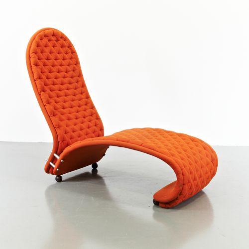 1 2 3 sessel von verner panton f r fritz hansen 1970er bei pamono kaufen. Black Bedroom Furniture Sets. Home Design Ideas