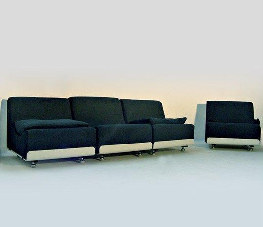 Vintage Sofa Units By Luigi Colani For Cor 1969 Set Of 4