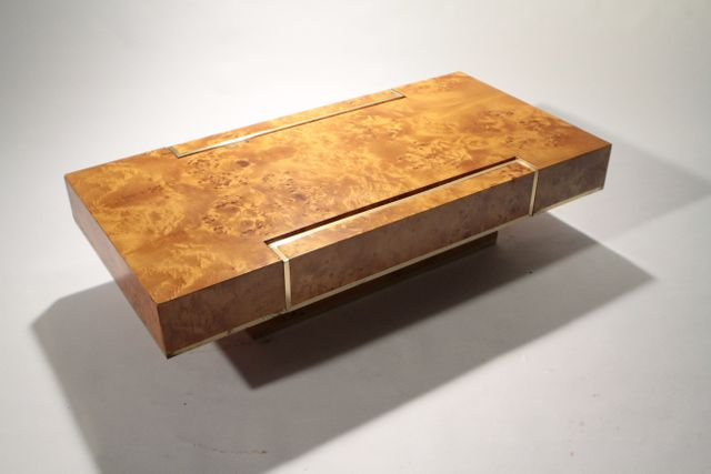 coffee table by jean claude mahey for roche bobois 1970s for sale at pamono. Black Bedroom Furniture Sets. Home Design Ideas