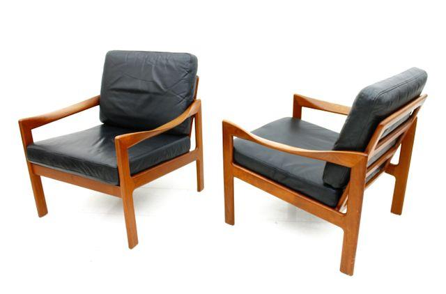 Danish Lounge Chairs By Illum Wikkels 1960s Set Of 2