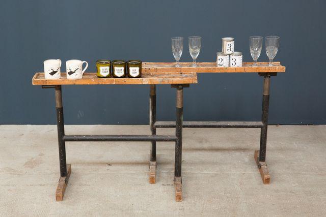 freistehende regale 2er set bei pamono kaufen. Black Bedroom Furniture Sets. Home Design Ideas
