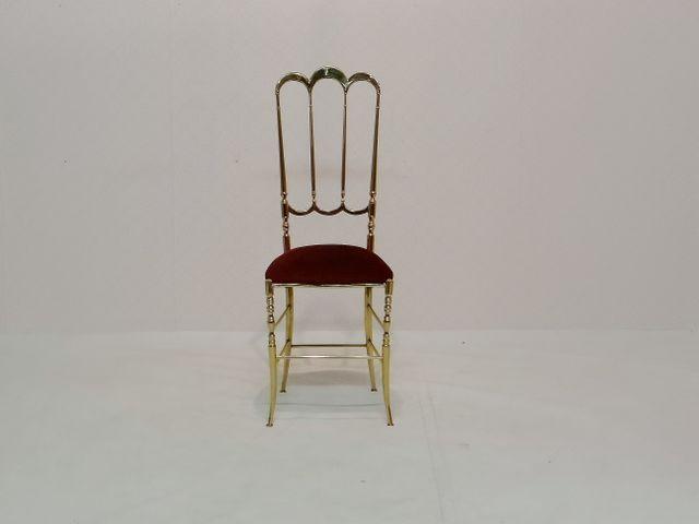 vintage chiavari stuhl mit hoher r ckenlehne 1950er bei pamono kaufen. Black Bedroom Furniture Sets. Home Design Ideas