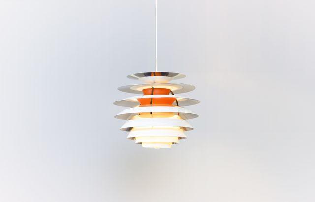 plafonnier scandinave par poul henningsen pour louis poulsen 1960s en vente sur pamono. Black Bedroom Furniture Sets. Home Design Ideas