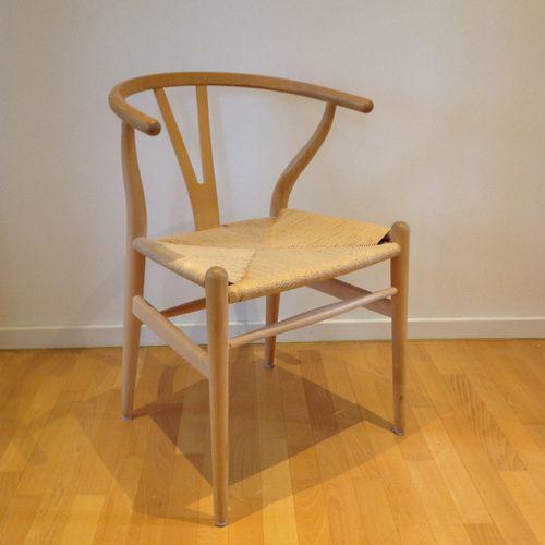 ch 24 y stuhl von hans j wegner f r carl hansen s n bei. Black Bedroom Furniture Sets. Home Design Ideas