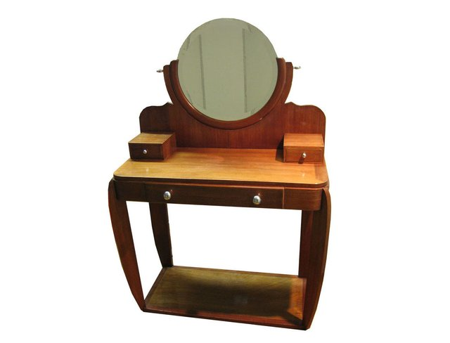 French art deco dressing table 1930s for sale at pamono for Table de nuit art deco