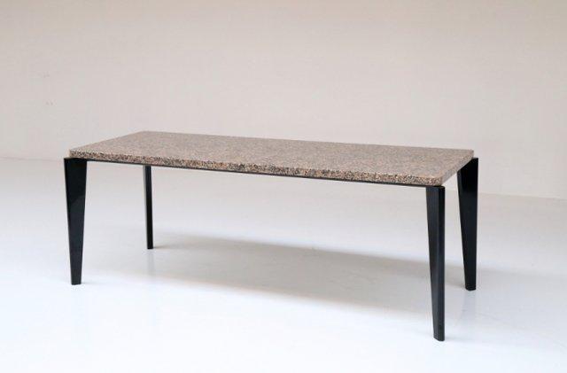 Granit Esstisch von Jean Prouvé bei Pamono kaufen