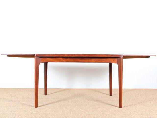 skandinavischer palisander esstisch von henning kjaernulf f r vejle mobelfabrik bei pamono kaufen. Black Bedroom Furniture Sets. Home Design Ideas